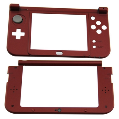 SCOCCA INTERNA CON SNODO SUPERIORE E INFERIORE ROSSO PER NINTENDO NEW 3DS XL