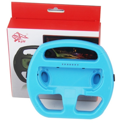 VOLANTE WHEEL CONTROLLER JOY-CON NINTENDO SWITCH BLU IDEALE MARIO KART