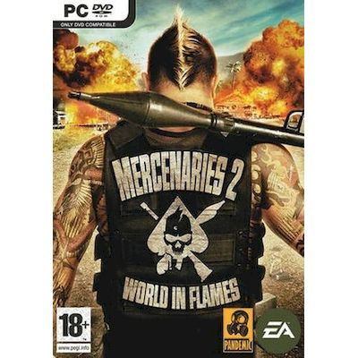 PC GIOCO MERCENARIES 2 INFERNO DI FUOCO