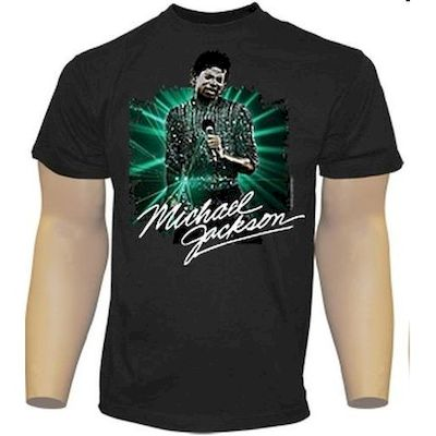 t-shirt maglietta michael jackson off the wall taglia m