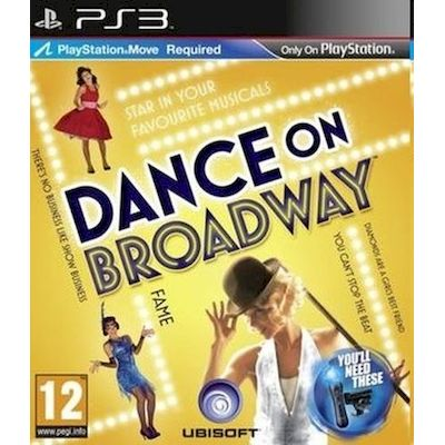 PS3 GIOCO DANCE ON BROADWAY IMPORT