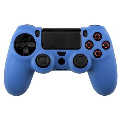 SILICON CASE LIGHT BLUE FOR PS4 DUAL SHOCK 4 CONTROLLER - N SHOP
