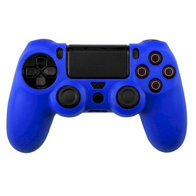 SILICON CASE DARK BLUE FOR PS4 DUAL SHOCK 4 CONTROLLER - N SHOP