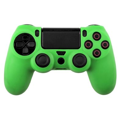 SILICON CASE GREEN FOR PS4 DUAL SHOCK 4 CONTROLLER - N SHOP