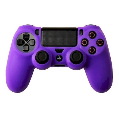 SILICON CASE PURPLE FOR PS4 DUAL SHOCK 4 CONTROLLER - N SHOP