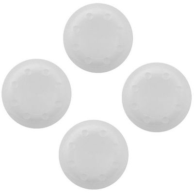 ANALOG THUMB CAP GRIPS SET CLEAR FOR CONTROLLER PS4 - PS3 - XBOX ONE - 360 - N S