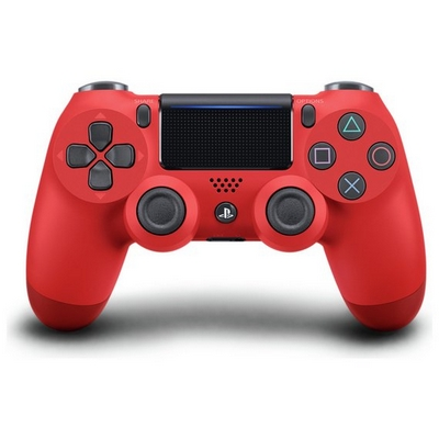 DUAL SHOCK 4 WIRELESS CONTROLLER PS4 ROSSO MAGMA RED SONY V2