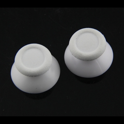 PS4 THUMB STICK CAP WHITE FOR CONTROLLER DUAL SHOCK 4 2PCS - N SHOP