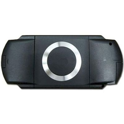 PSP 1000 FULL CASE SET FRONT AND BACK NERO - N SHOP