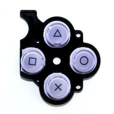 PSP 2000 KEYSTOKE WITH D-PAD RUBBER  VIOLET - SONY
