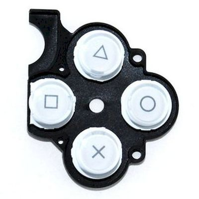 PSP 2000 KEYSTOKE WITH D-PAD RUBBER WHITE - SONY