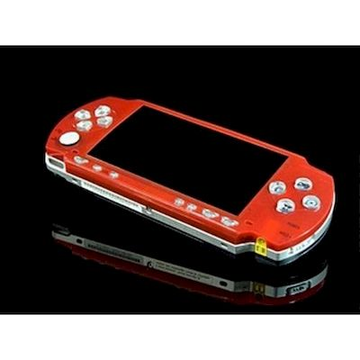 PSP 2000 FACEPLATE MAGIC NIGHT GLOW XCM ROSSO