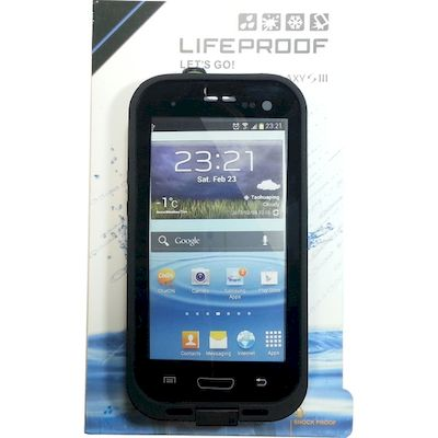 CUSTODIA SUBACQUEA WATERPROOF LIFEPROOF NERA SAMSUNG GALAXY S3 I9300