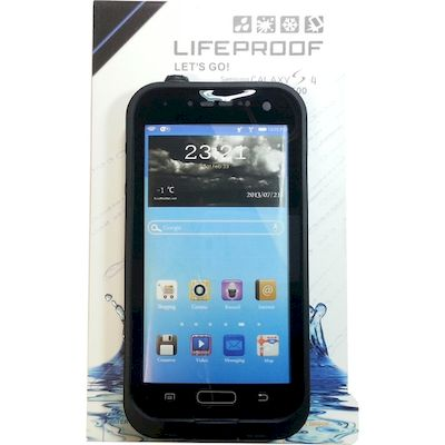 CUSTODIA SUBACQUEA WATERPROOF LIFEPROOF NERA SAMSUNG GALAXY S4 I9500 I9505