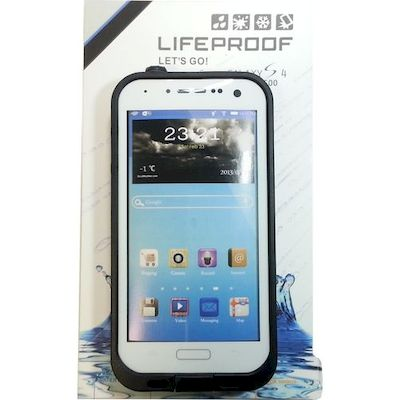 CUSTODIA SUBACQUEA WATERPROOF LIFEPROOF BIANCA SAMSUNG GALAXY S4 I9500 I9505