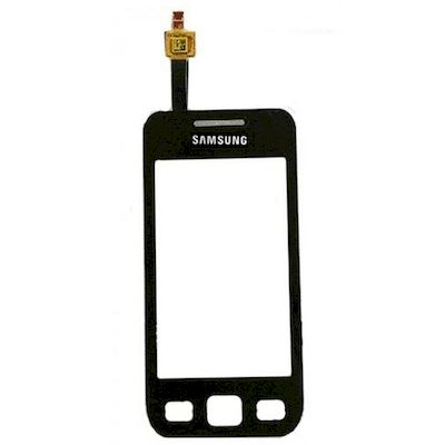 TOUCH SCREEN DI RICAMBIO NERO PER SAMSUNG GALAXY WAVE 575 S5750