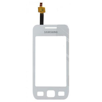TOUCH SCREEN DI RICAMBIO BIANCO PER SAMSUNG GALAXY WAVE 575 S5750