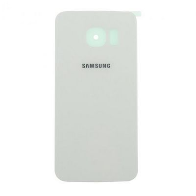BATTERY BACK COVER GLASS WHITE FOR SAMSUNG GALAXY S6 EDGE G925