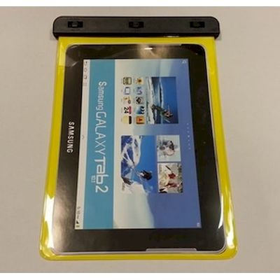 CUSTODIA SUBACQUEA WATERPROOF BAG GIALLA WP-180 PER SAMSUNG GALAXY TAB 2 10.1