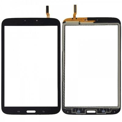 TOUCH SCREEN DI RICAMBIO NERO PER SAMSUNG GALAXY TAB 3 8.0 T311 3G