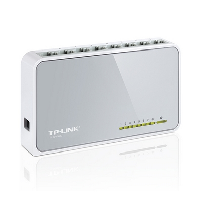 switch 8p 10/100 mbps fast ethernet tp-link tl-sf1008d