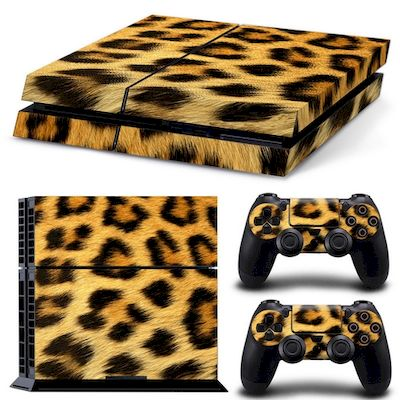 PATTERN SERIES DECALS SKIN VINYL STICKER LEOPARD FOR CONSOLE PS4 - N SHOP