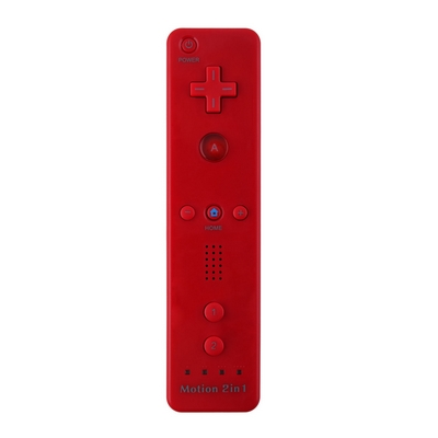 WII - WII U PLUS REMOTE CONTROLLER COMPATIBLE RED - N SHOP