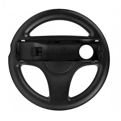 steering wheel controller grip for wii and wii u remote controller black - Terze
