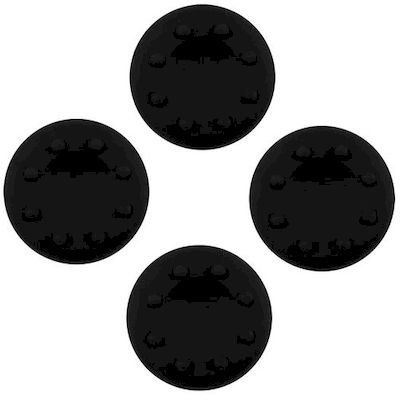 ANALOG THUMB CAP GRIPS SET BLACK FOR CONTROLLER PS4 - PS3 - XBOX ONE - 360 - N S