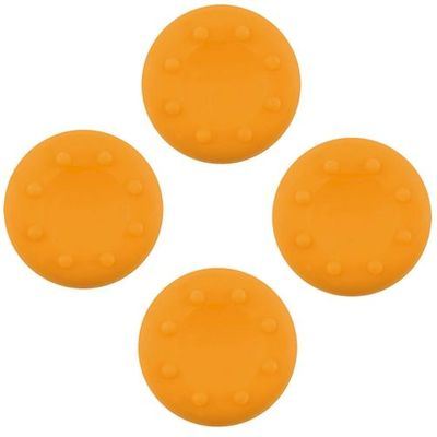 ANALOG THUMB CAP GRIPS SET YELLOW FOR CONTROLLER PS4 - PS3 - XBOX ONE - 360 - N